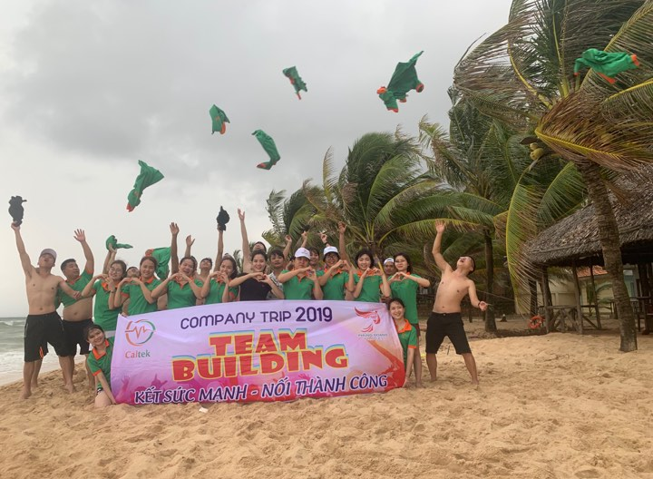 Caltek Team building 2019